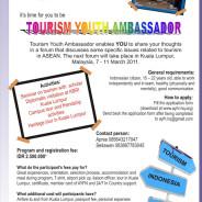 Tourism Youth Ambassador